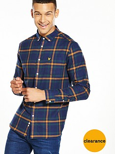 lyle-scott-lyle-amp-scott-check-flannel-ls-shirt