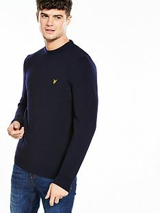 lyle-scott-lyle-amp-scott-crew-neck-lambswool-jumper
