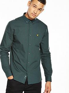 lyle-scott-lyle-amp-scott-ls-gingham-shirt