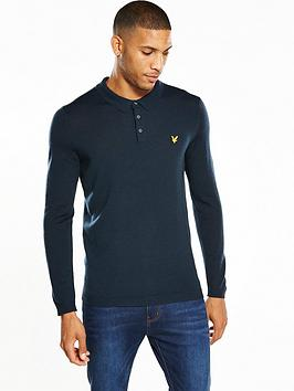 lyle-scott-lyle-amp-scott-knitted-polo