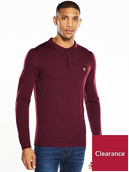 lyle-scott-lyle-amp-scott-knitted-polo