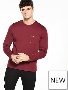 lyle-scott-lyle-amp-scott-zip-pocket-sweatshirt