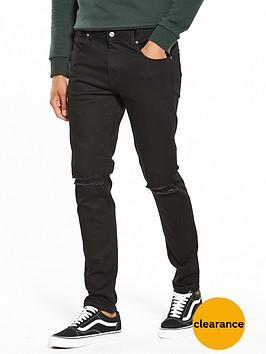 dr-denim-clark-slim-ripped-knee-jeans