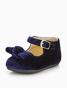 mini-v-by-very-dixie-velvet-bow-baby-strap-shoe