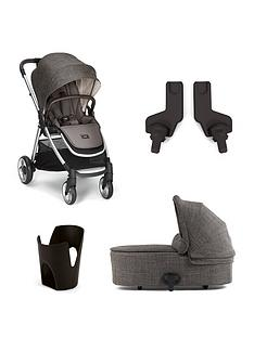 mamas-papas-mamas-amp-papas-armadillo-flip-xt2-4-piece-bundle-pushchair-carrycot-cupholder-amp-adaptors