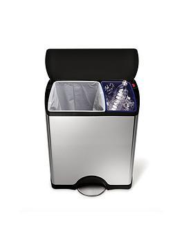 simplehuman-rectangular-recycler-bin