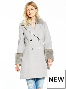 v-by-very-petite-faux-fur-cuff-amp-collar-coat