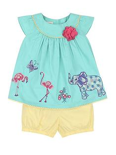 monsoon-baby-olive-embroidery-top-and-short-set