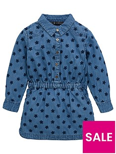 mini-v-by-very-girls-chambray-star-embroidered-denim-dress