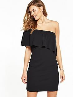 warehouse-crepe-one-shoulder-dress