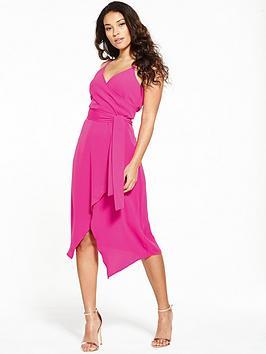 warehouse-wrap-asymmetric-dress