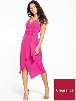 warehouse-wrap-asymmetric-dress