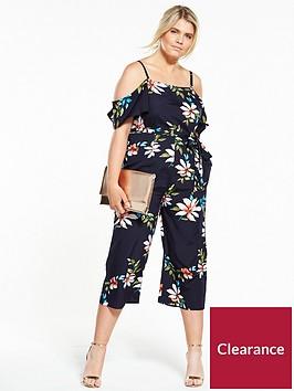 ax-paris-curve-floral-print-jumpsuit