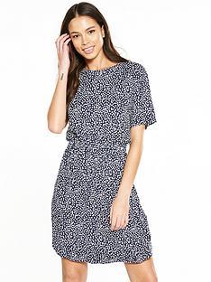 warehouse-geometric-block-dress