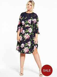 v-by-very-curve-lace-yoke-floral-tea-dress
