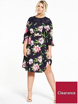 v-by-very-curve-lace-yoke-floral-tea-dress