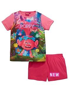 trolls-trolls-girls-shorty-pyjamas
