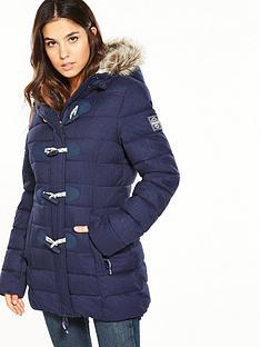 superdry-tall-marl-toggle-puffle-jacket