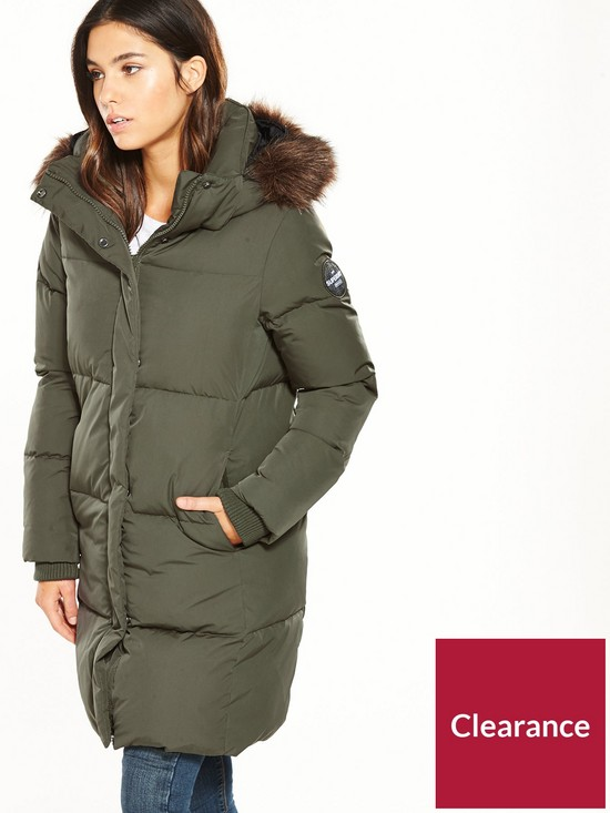 a25fedd4b uk Coat Superdry Parka Very Cocoon co nBEqFpXR