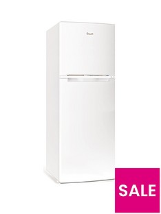 Swan SER5330W 48cm Wide Freezer Over Fridge - White