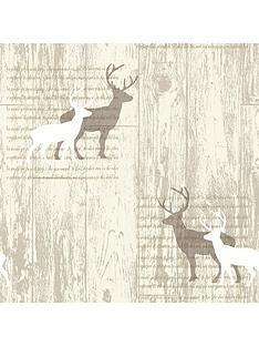 arthouse-stag-wallpaper-cream