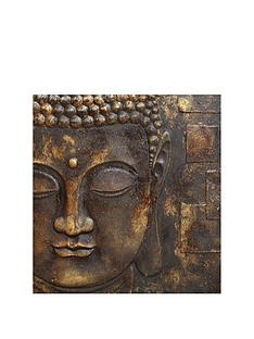 arthouse-black-and-gold-3d-buddha-wall-art