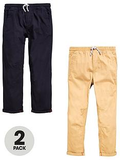 v-by-very-2-pk-pull-on-trousers-black-tan