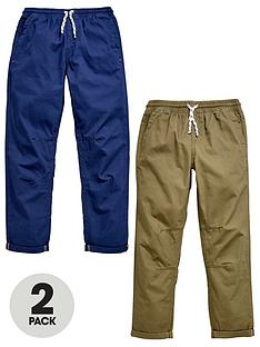 v-by-very-2-pk-pull-on-trousers-khaki-navy