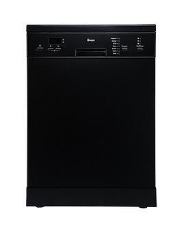 swan-sdw7070b-14-place-setting-fullsize-freestanding-dishwasher-black
