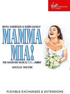 virgin-experience-days-mamma-mia-top-priced-theatre-tickets-and-dinner-for-twonbsp