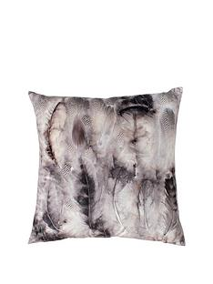 gallery-distressed-feather-print-cushion