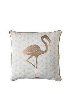 gallery-golden-geo-flamingo-cushion