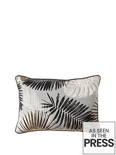 gallery-monochrome-andnbspgold-palm-leaves-cushion