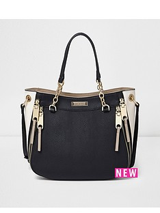 river-island-river-island-chain-handle-tote-bag