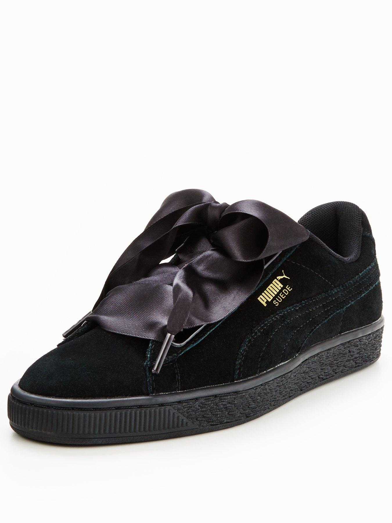 Puma Suede Heart Satin Ii 1600167507 Women's Shoes Puma Trainers