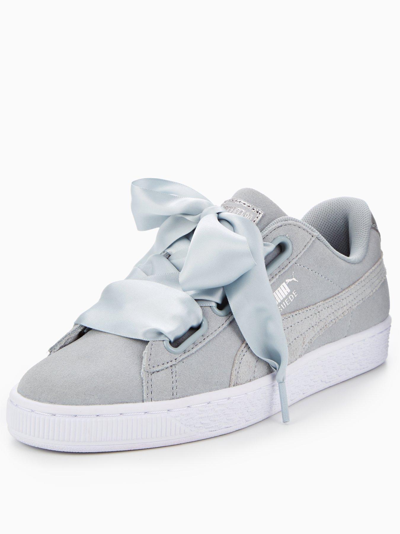 puma basket grey