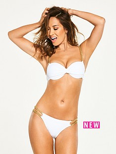 myleene-klass-underwired-chain-trim-bandeau-bikini-top-white