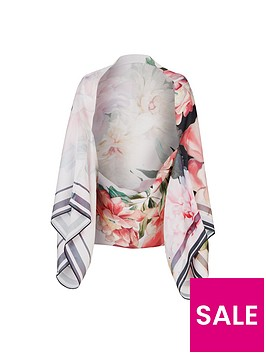 ted-baker-printed-posie-cape-scarf