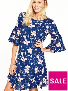 vila-new-dress-floral-print