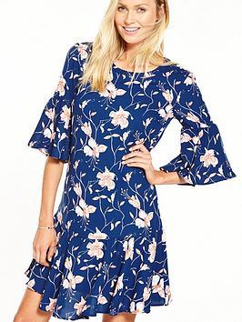 Vila New Dress - Floral Print
