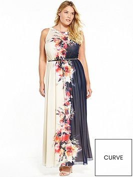 little-mistress-curve-floral-belted-maxi-dress