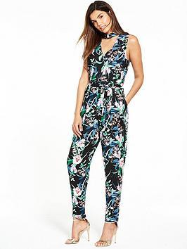 wallis-tropical-floral-jumpsuit