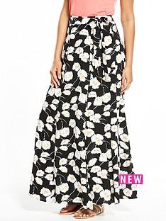 v-by-very-floral-print-wrap-maxi-skirt