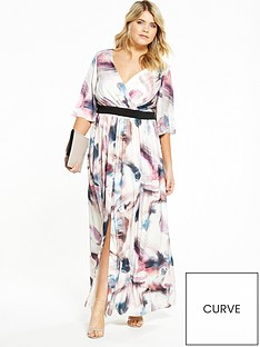 little-mistress-curve-printed-maxi-dress
