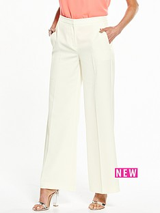 wallis-wallis-sapphire-ivory-wide-leg-trouser