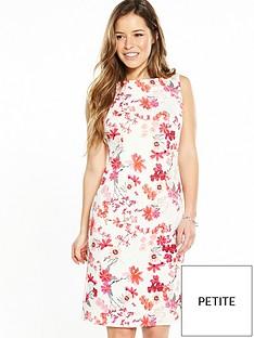 wallis-petite-floral-shift-dress