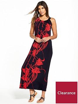 wallis-placed-floral-maxi-dress
