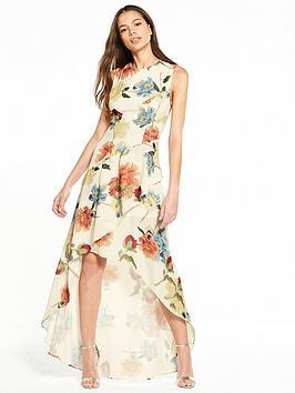 Hope & Ivy Floral Maxi Dress