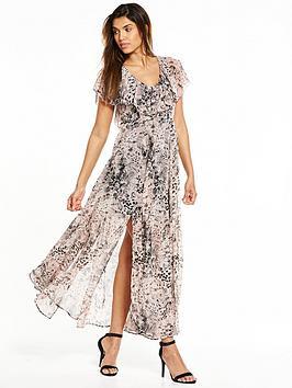 Religion Praise Leopard Maxi Dress
