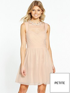 little-mistress-little-mistress-petite-choker-neck-midi-dress